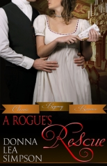 """A Rogue's Rescue"" Donna Lea Simpson"