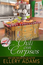 """Chili con Corpses"" Ellery Adams"