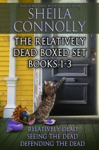 """The Relatively Dead Boxed Set"" Sheila Connolly"