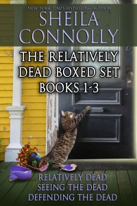 """""""The Relatively Dead Boxed Set"""" Sheila Connolly"""
