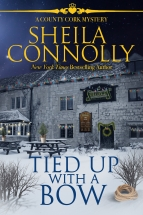 """Tied Up with a Bow"" Sheila Connolly"