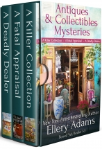 """""""The Antiques & Collectibles Mysteries Boxed Set"""" Ellery Adams"""